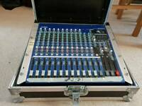 Yamaha mixing desk with sound effects 16 channels