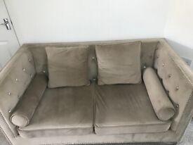 Italian Style 2 seater Sofa with Cushions
