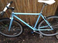 single gear blue bike in good condition £90