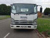 Isuzu Double Bed Pick Up Recovery Truck