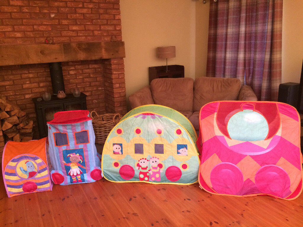 IN THE NIGHT GARDEN TENTS AND AQUADOODLE MATS