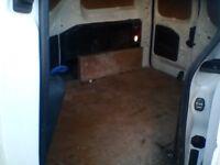 2009 Peugeot partner van, 3 seats, side loading door