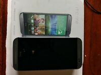 HTC One M8 16Gb - Used but good condition -locked to EE - with box and original charger