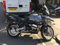 2003 BMW R1150GS VERY LOW MILAGE 9,822