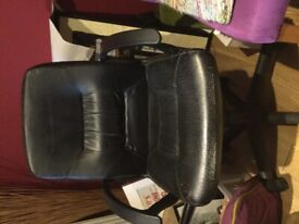 Black desk office chair Free