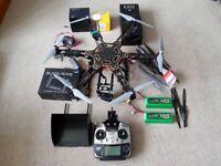 Upgraded Pro DJI FlameWheel F550 GoPro Drone Hexacopter GIMBAL NAZA V2 Futaba T14SG etc