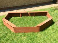 Wooden Sandpit Frame