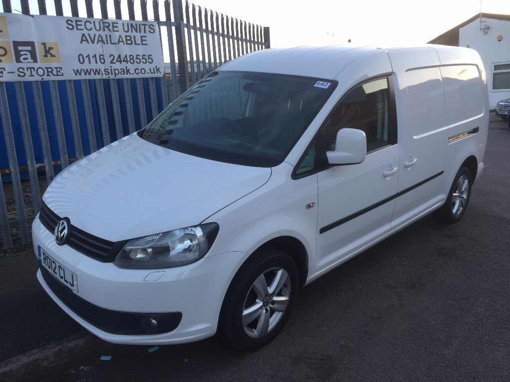 vw caddy maxi lwb sport van 2 0tdi 140bhp 6 speed 2012 12reg 8999 plus vat in leicester. Black Bedroom Furniture Sets. Home Design Ideas