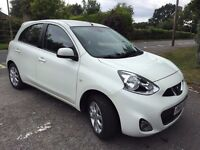 2014 64 PLATE NISSAN MICRA Facelift Model in WHITE CAT D 4,000 Genuine Miles EXCELLENT CONDITION