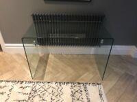 Perfect condition glass desk