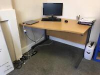4 office desks
