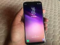 Samsung galaxy s8 plus - 64gb - unlocked - cracked screen