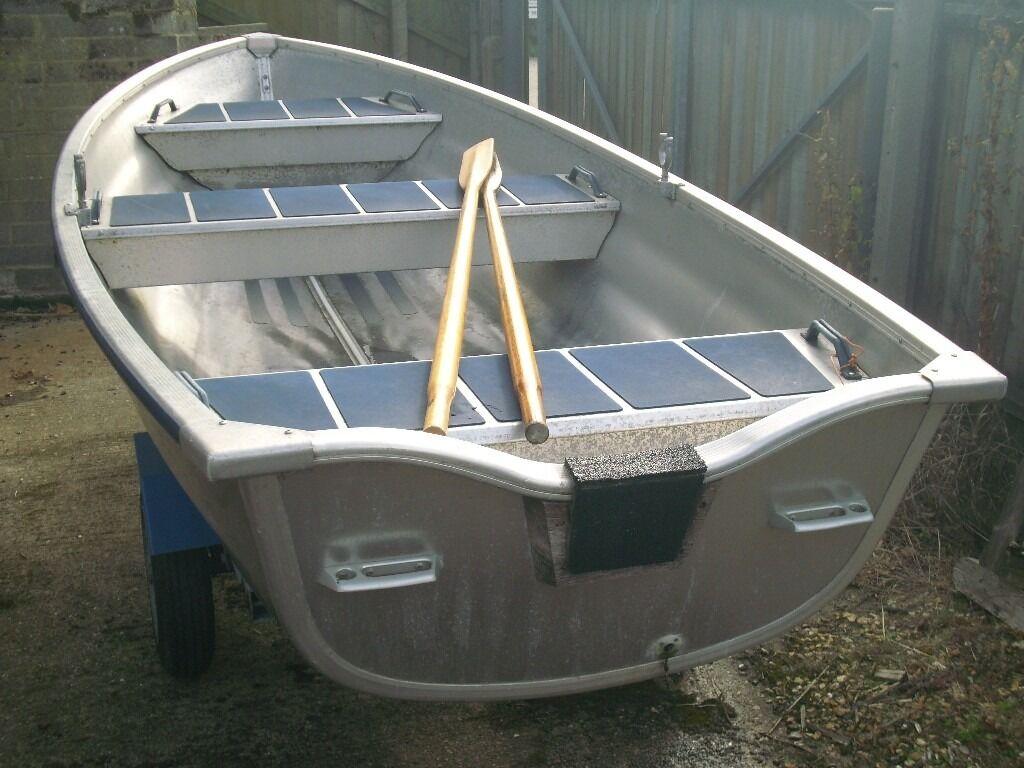 Linder 410 Aluminium Boat & Indespension Trailer For Sale   in Poole, Dorset   Gumtree