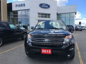 2014 Ford Explorer Limited  4W.D. NAVI LEATHER.