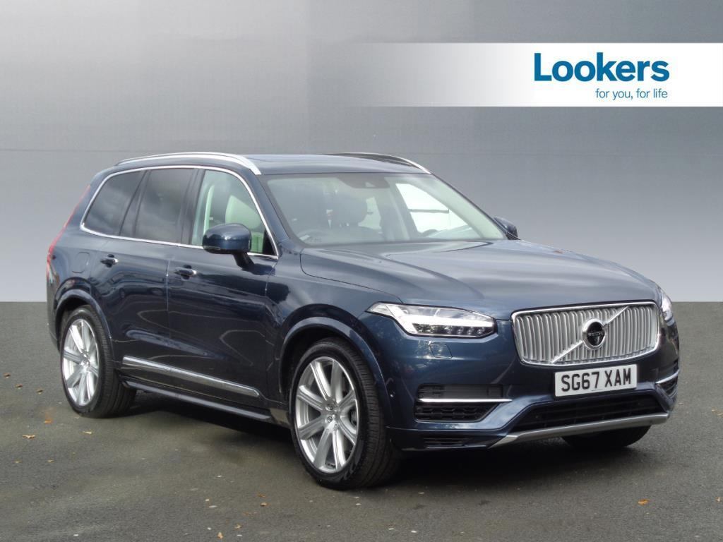 volvo xc90 t8 twin engine inscription pro awd blue 2017 09 15 in motherwell north. Black Bedroom Furniture Sets. Home Design Ideas