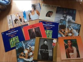 11 Motown records LPs