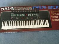 Reduced Yamaha Portatone PSR -300, Electronic keyboard , in original box, immaculate condition.