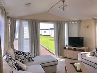 CHEAP CARAVAN WITH FRENCH DOORS FOR SALE IN NORTHUMBERLAND, 2017 FEES INCLUDED & 12 MONTH SEASON!