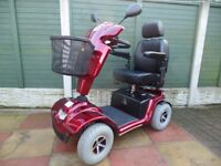 mobility scooter 4/8mph road/pavement roma granada. In immaculate condition