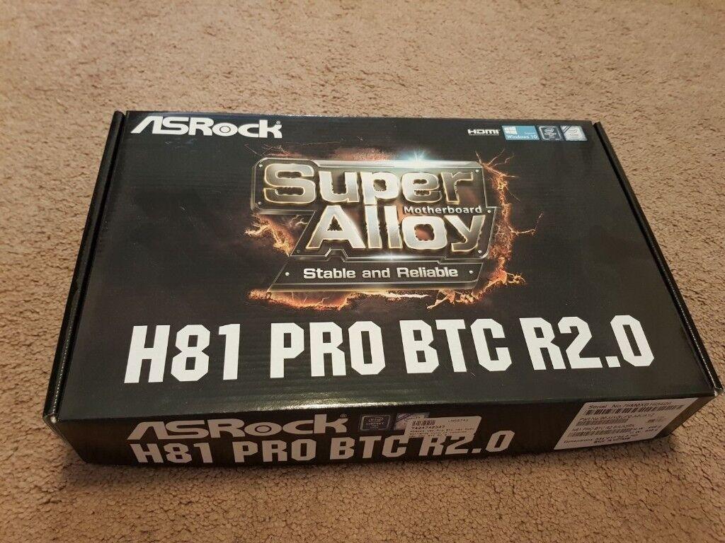 New Asrock H81 Pro R20 Btc In Ipswich Suffolk Gumtree Motherboard