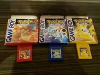 Nintendo gameboy games x 3
