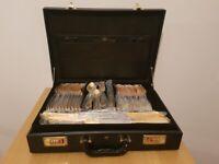 SBS Bestecke Solingen 70 piece 23/24 Carat Gold Plated Cutlery Set - Brand New