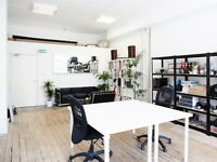 DESK SPACE IN SPACIOUS & BRIGHT WAREHOUSE OFFICE - DE BEAUVOIR, N1