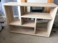 New solid wood shelving unit