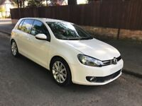 VW GOLF 1.4 TSI GT WHITE 5dr 2010 10 Manual Petrol FSH 12 Months MOT GT SPORT