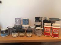 Paint testers and diy bits