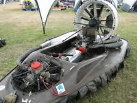 Formula 1 racing hovercraft powered by 170HP Rotax 809