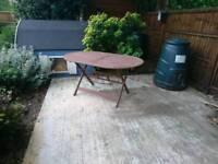 Garden Table. Good condition.
