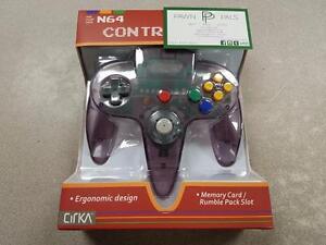 Hyperkin N64 Controller - Atomic Purple