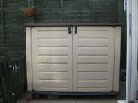 """""""Eldir"""" large garden storage box"""