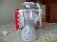 Moulinex Vitamix 1.5L blender, boxed, barely used and ONLY £12!