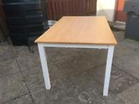 Dining table beech - seats 6