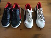 PUMA TRAINERS SIZE 3. £4 each