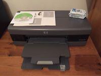 HP desktop 6520 printer perfect condition + ink!