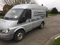 Ford transit 2.4 very good runner LOW MILES £1200