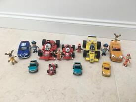Roary the racing car and other character toys