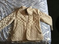 Zara girls spring coat. Age-9/10 Camel brown. In perfect conditions