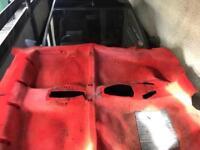 Original Peugeot 205 gti red carpet