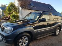 hyundai terracan 2.9 diesel manual (merc engine)