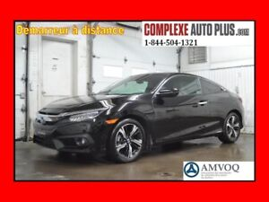 2016 Honda Civic Coupe Touring *Navi/GPS,Toit,Cuir 2 tons