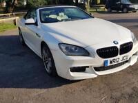 BMW 6 SERIES 3.0 640D M SPORT 2d AUTO 309 BHP (black) 2012