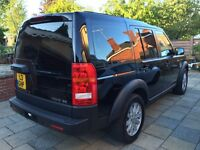Discovery TDV6 2008 F/S/H 76000 miles superb example in Black