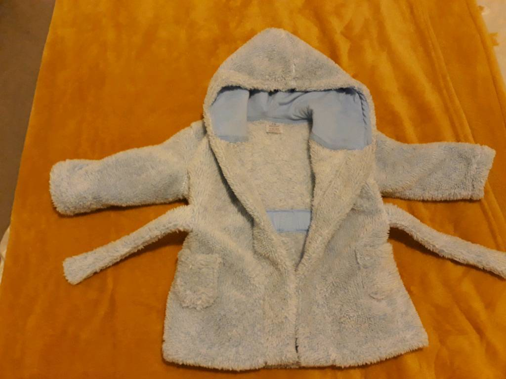 a376faac8 Baby boy dressing gown