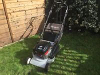 Petrol Lawnmower Self Propelled Rear Roller
