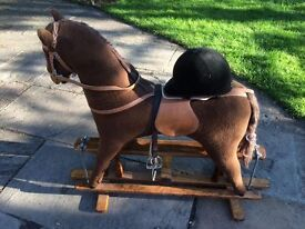 Large Rocking Horse - Girls or Boys ( cowboys ) aged 2 - 7 - Excellent Condition - Open to Offer