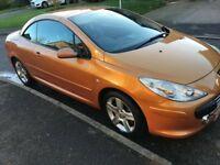 Peugeot 307cc, Orange, 81k